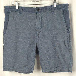 Volcom Casual Bermuda Shorts Cotton Linen Blend